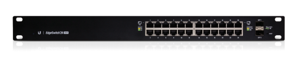 Ubiquiti EdgeSwitch - 24-Port Managed PoE+ Gigabit Switch with SFP / 500W