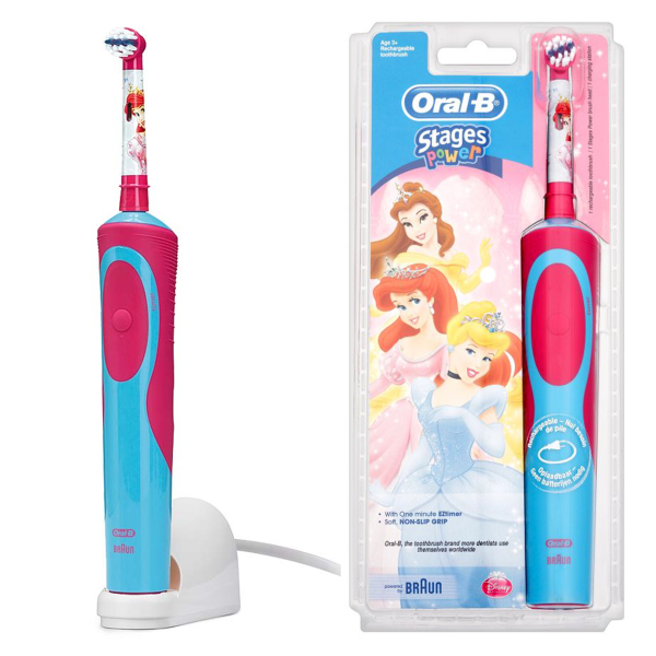 oral b stages power kids eltandborste princess. Black Bedroom Furniture Sets. Home Design Ideas