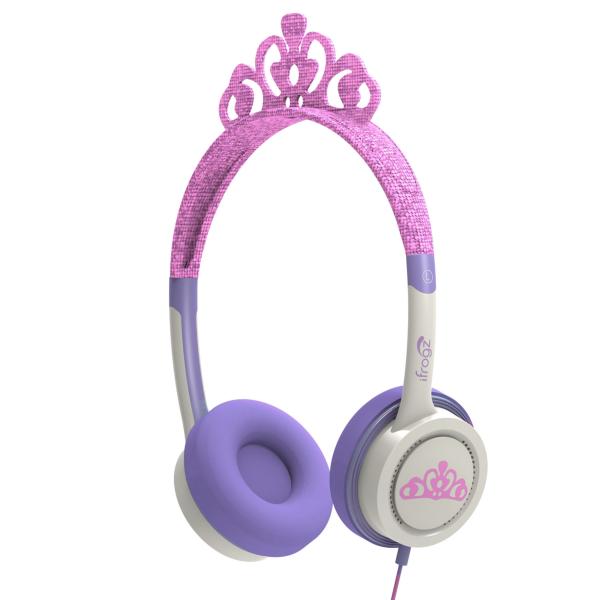 ifrogz little rockers costume hörlurar anpassade för barn rosa tiara 69c10402eadbb