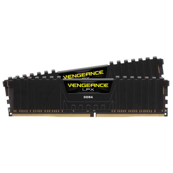 Corsair Vengeance LPX Black 32GB (2x16GB) / 2666MHz / DDR4 / CL16 / CMK32GX4M2A2666C16