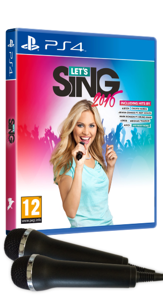 Lets Sing 2016 - 2 Mic Pack