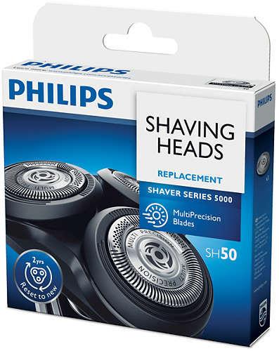 Philips Rakhuvud SH50/50 Passar till Shaver 5000, PT/AT7--, PT/AT8--, 71--, 72--, 73--, 77--, 88--,