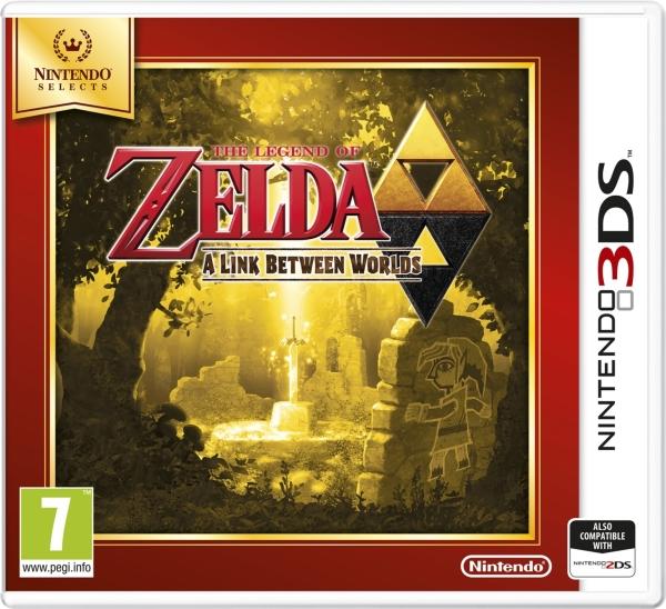 The Legend of Zelda: Link Between Worlds SELECT