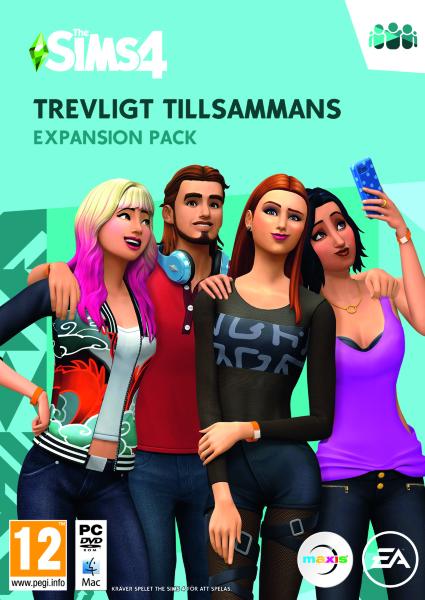 The Sims 4 Trevligt tillsammans (Svensk)