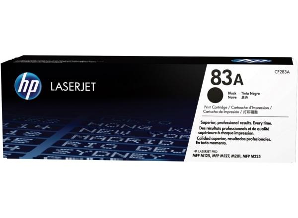 HP Toner 83A – Svart (CF283A)