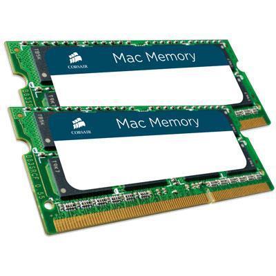 Corsair 8GB (2x4GB) / 1066MHz / DDR3 / CL7 / (CMSA8GX3M2A1066C7) (Apple) (Fyndvara - Klass 1)