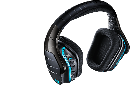 Logitech G933 Artemis Spectrum RGB 7.1 Surround Wireless Gaming Headset (Fyndvara - Klass 1)