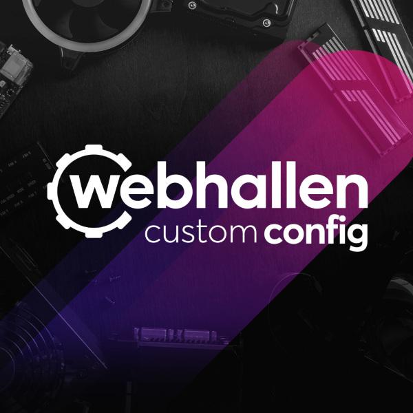 Webhallen Custom Config - Montering av dator