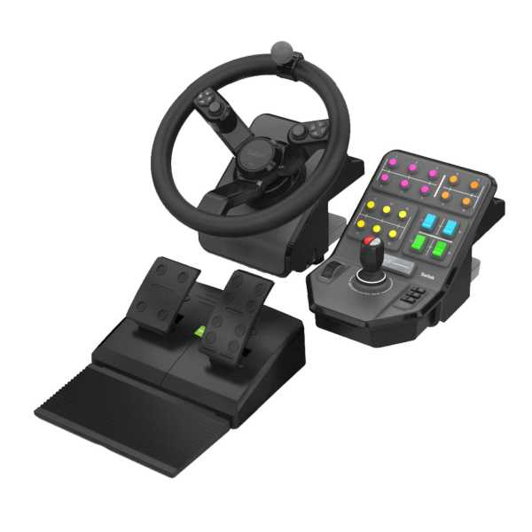 saitek heavy equipment precision control system for pc farm simulator kompatibelt rat. Black Bedroom Furniture Sets. Home Design Ideas