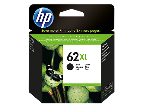 HP 62 XL Svart