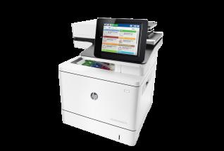 HP Color LaserJet Enterprise MFP M577dn - Färg / Ethernet