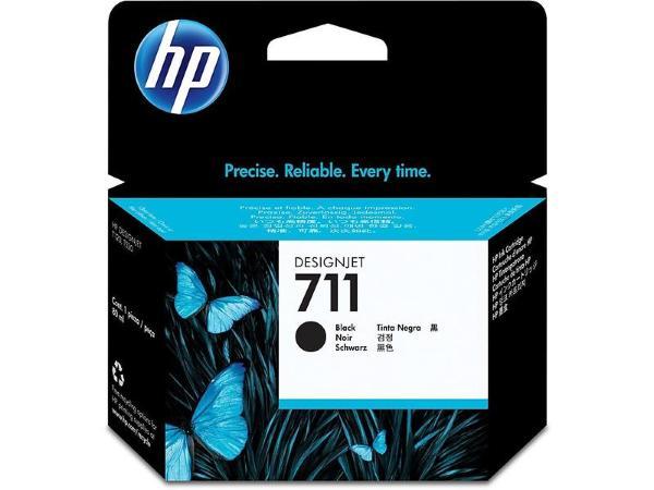 HP 711 - Svart 80ml
