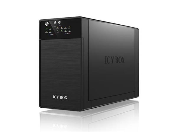 ICY BOX IB-RD3620SU3 HDD Chassi 2-Bay, 2x 3,5 HDD