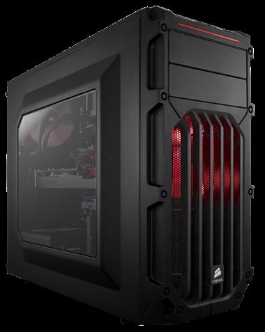 Corsair Carbide SPEC-03 - Röd LED
