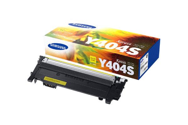 Samsung - Toner CLT-Y404S Gul - 1000 sidor