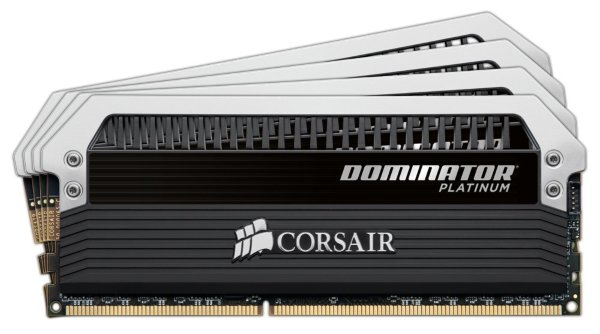 Corsair Dominator Platinum 64GB (4x16GB) / 3000Mhz / DDR4 (CMD64GX4M4C3000C15)