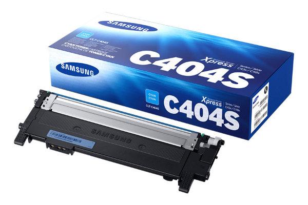 Samsung - Toner CLT-C404S Cyan - 1000 sidor
