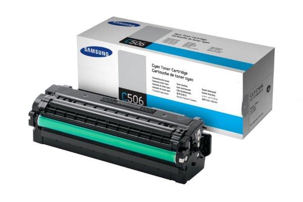 Samsung - CLT-C506L Cyan - 3500 sidor