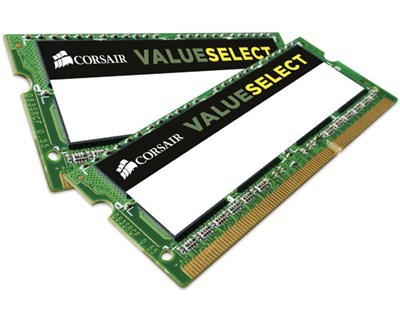 Corsair Value Select 16GB (2x8GB) 1600MHZ / DDR3L / CL11 (CMSO16GX3M2C1600C11)