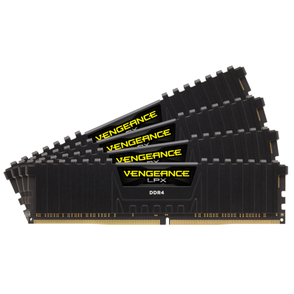 Corsair Vengeance LPX Black 16GB (4x4GB) 2400MHz / DDR4 / CL16 / CMK16GX4M4A2400C16