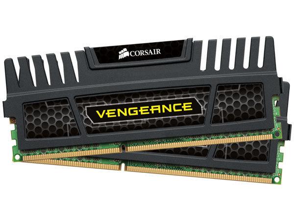 Corsair Vengeance 8GB DDR3 PC3-12800 1600MHz (CMZ8GX3M2A1600C9) (2x4GB) (Fyndvara - Klass 1)