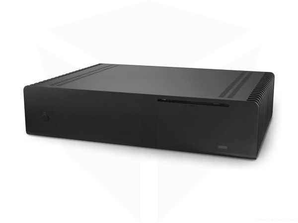 Streacom FC10 Fanless Chassis Black, Extruded Aluminium , with Optical slot