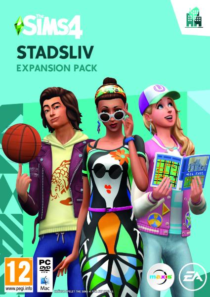 The Sims 4 Stadsliv (Svensk)