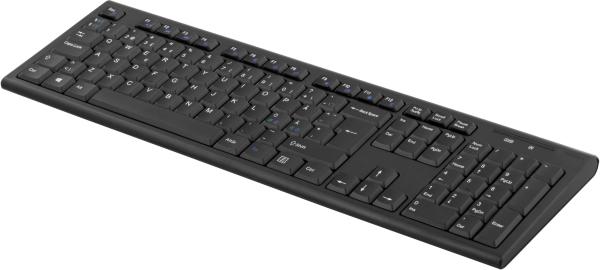 Deltaco trådlöst tangentbord TB-122