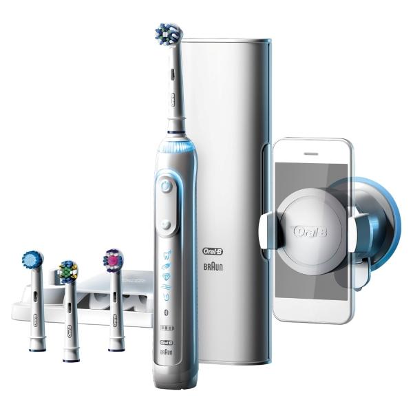 Oral-B Genius 9000 Eltandborste - Vit