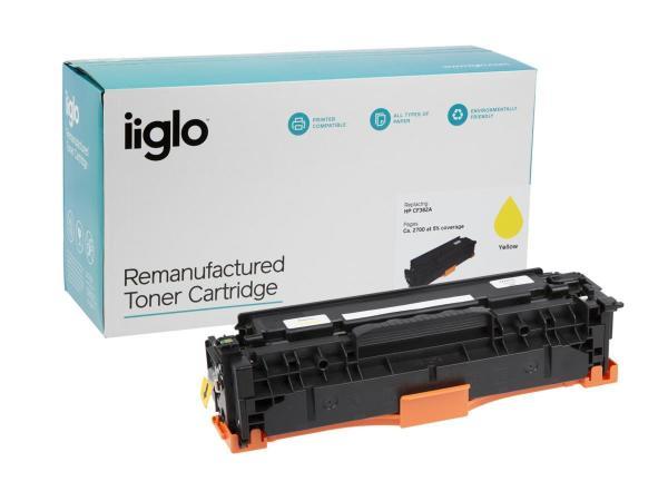 iiglo Toner 312A Yellow