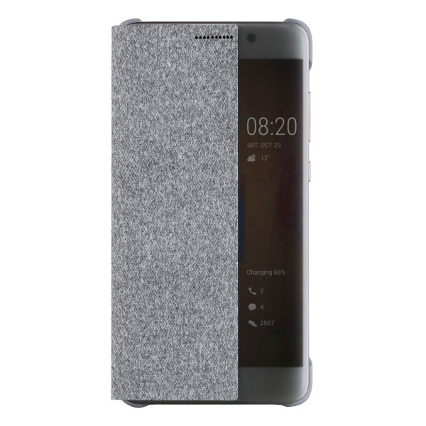Huawei Mate 9 Pro Smart View Flip Case - Grå