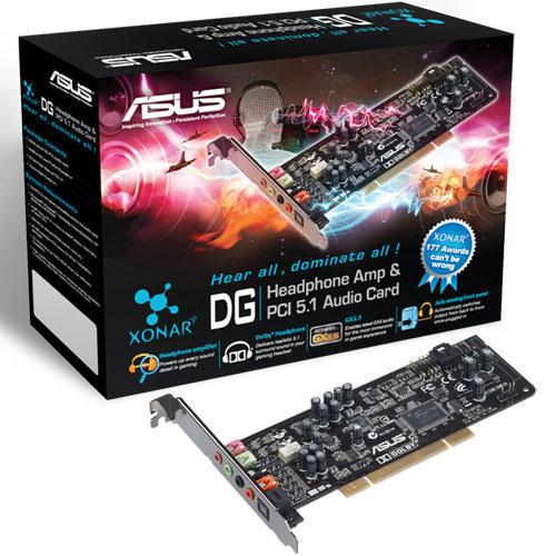 ASUS XONAR DG PCI 5.1-ljudkort (Fyndvara - Klass 1)