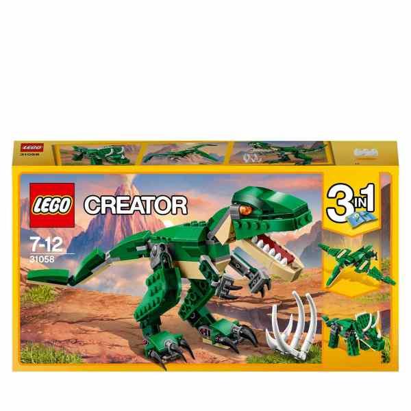 LEGO Creator – Mäktiga dinosaurier 31058