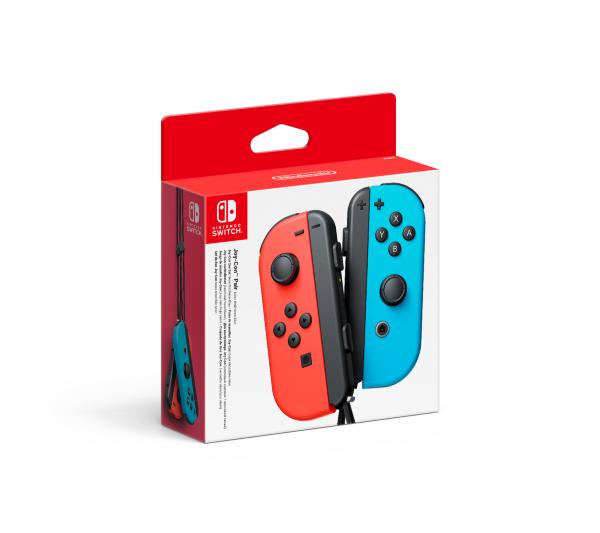 Nintendo Switch Joy-Con Handkontroll Pair Blue/Red