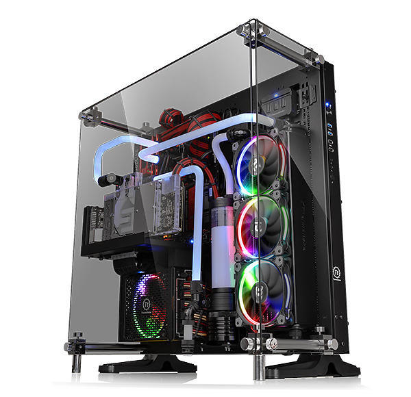 Thermaltake Core P5 Glass / Transparent - Svart