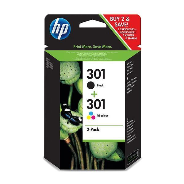 HP 301 (Svart + 3-Färg)