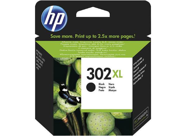 HP 302XL (Svart)