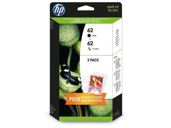 HP 62 (Svart/3-Färg)