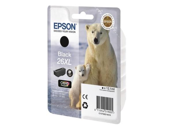 Epson T2621 Black Ink Cartridge XL