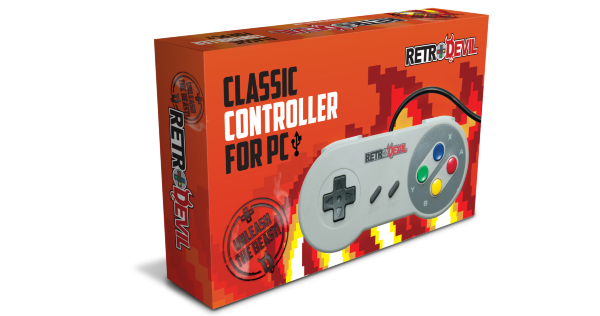 RetroDevil SNES Controller USB PC