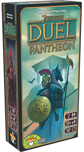 7 Wonders Duel: Pantheon Expansion (Nordic)