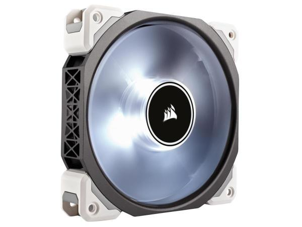 Corsair ML120 PRO 120mm Premium Magnetic Levitation Fan - Vit (Fyndvara - Klass 1)