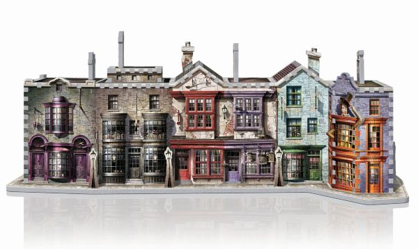 Wrebbit 3D-Pussel Harry Potter Diagon Alley