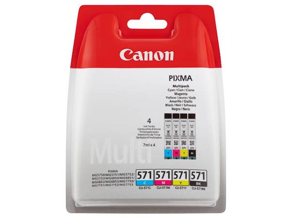 Canon CLI-571 C/M/Y/BK Multipack