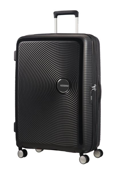 American Tourister Soundbox L Expandable 77cm – Svart