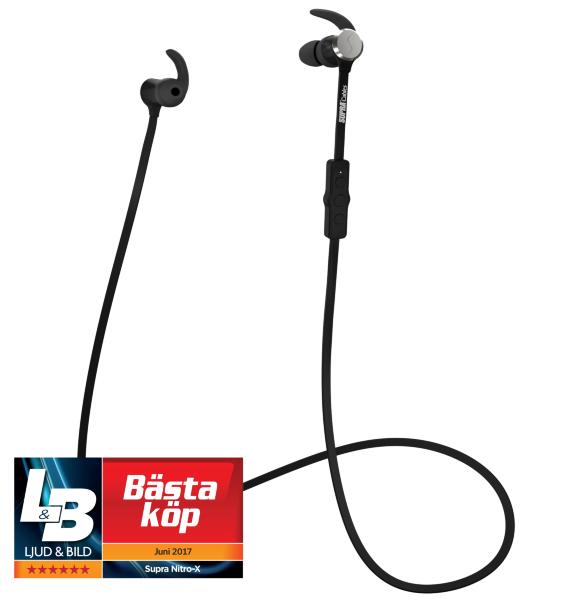 SUPRA NiTRO-X Wireless Black In-Ear