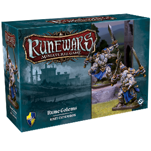 Runewars Miniatures: Rune Golems Expansion Pack