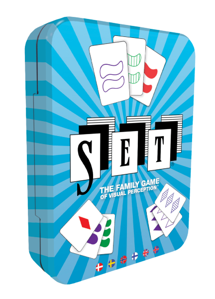 Kortspelet Set (skandinavisk)