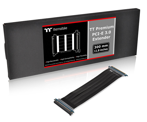 Thermaltake PCIe x16 Premium Riser Card Extender Kabel