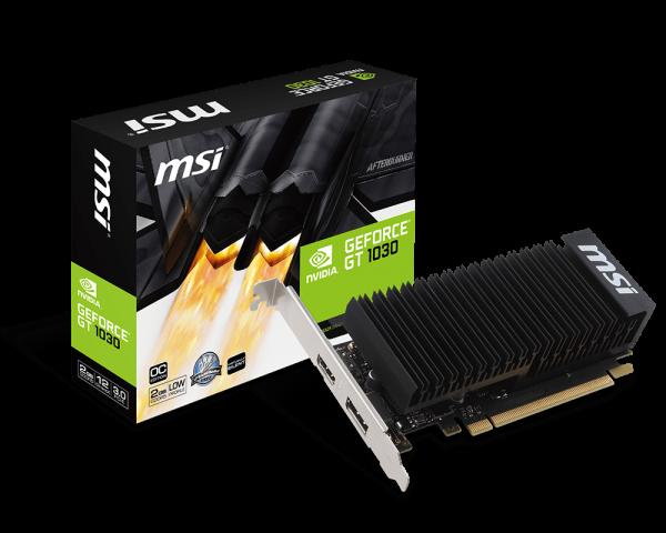 MSI GeForce GT 1030 2GH LP OC | Heatsink (GeForce GT 1030 2GH LP OC)